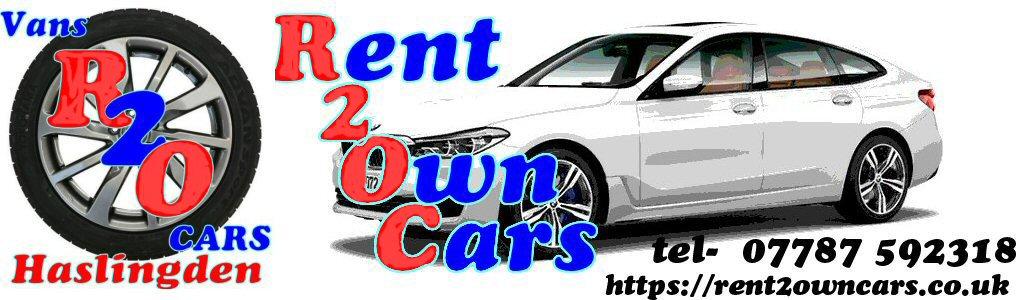 Header Rent2Own cars haslingden