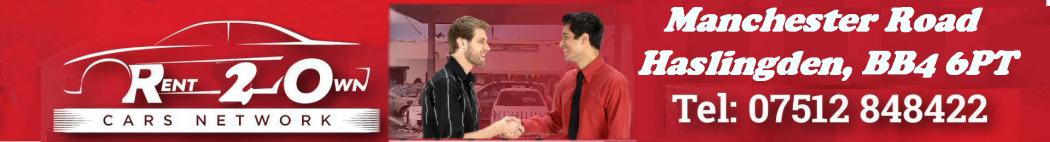Rent 2 Own cars haslingden